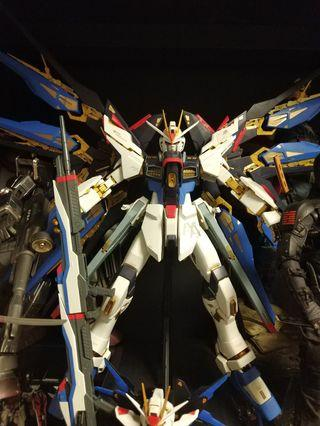 PG Strike Freedom gundam clean built