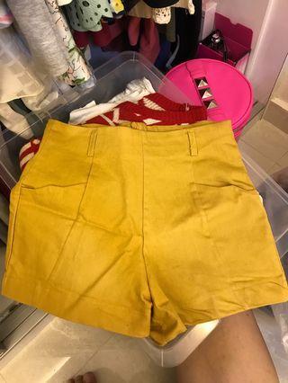 🚚 BN Casual Mustard Shorts CLEARANCE