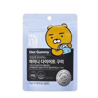 韓國 MYNI X KAKAO FRIENDS 瘦身減肥軟糖DIET GUMMY 12粒/包