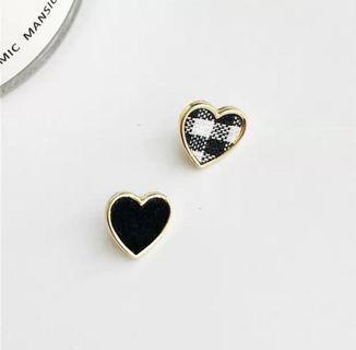#101 Cute Heart-shaped earrings
