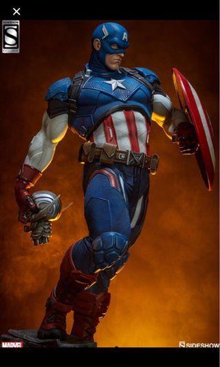 Sideshow EXCLUSIVE Captain America Statue