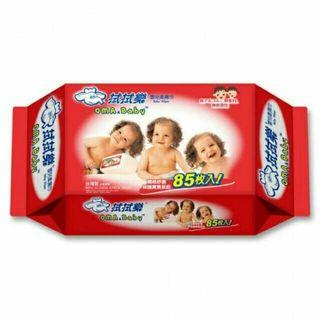 🚚 拭拭樂超純水嬰兒濕紙巾85抽 柔濕巾 溼紙巾 柔溼巾