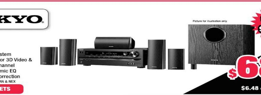 Used: Onkyo HT-S3400 (Black) 5.1 Home Theatre system
