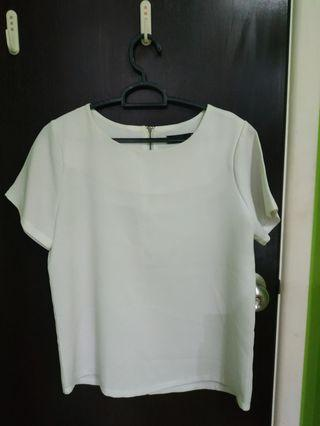 🚚 white formal top
