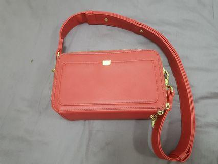USED Small Size Sometimes Red Lofar bag (Pristine condition, used 2 times)