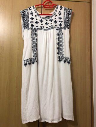 🚚 Dotti white dress