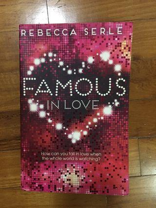 🚚 Famous In Love - Rebecca Serle