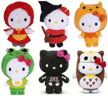 Limited Edition Hello Kitty Plush Toys