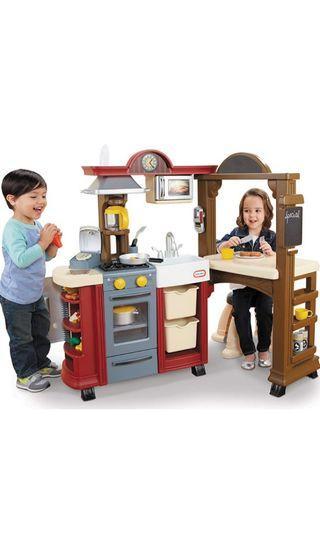 SALE Little Tikes Kitchen and Restaurant Set not Step2 vtech leapfrog fisherprice kidkraft