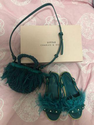 Charles&Keith shoes and bag