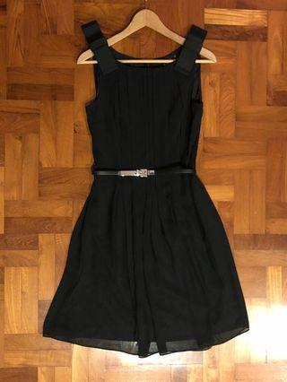 🚚 iROO black dress