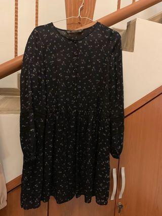Zara Dress Hitam #mauthr