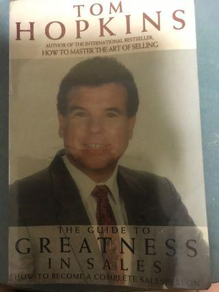 🚚 The Guide To Greatness In Sale - Tom Hopkins