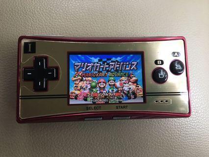 Gameboy micro 20週年紀念版 送保護貼 USB線