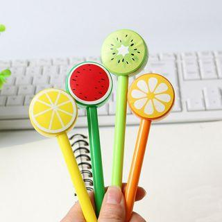 Fancy fruit gel pen (1 pc)