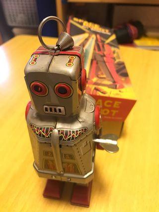 Space Robot 上鏈 figure