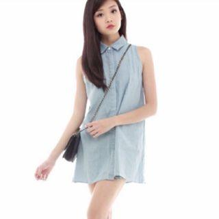 Swing It Denim Dress