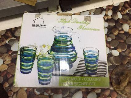 set jug dan glass