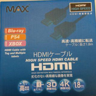Max HDMI cable 1.8m