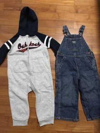 Authentic Kids Apparel from Oshkosh, Gap and Old Navy