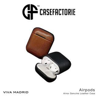 Viva Madrid Airex Genuine Leather Case for Airpods