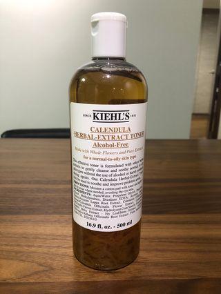 🚚 500ml-Kiehl's Calendula Herbal Extract Toner 500ML