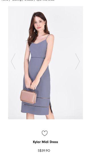 🚚 Fayth Kylar Midi Dress
