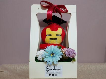Customise Graduation Bear Bouquet
