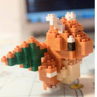 POKEMON GO LEGO NANOBLOCK DIY Mini Block Educational Toys - Dragonite 240 pieces