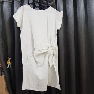Dress White Alexalexa