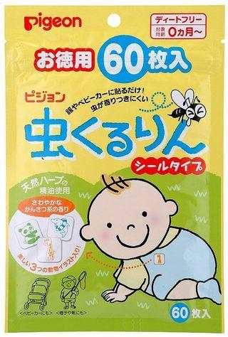 🚚 日本pigeon 驅蚊貼