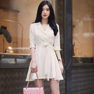 [Korea Brand] Milkcocoa Pretty White Dress