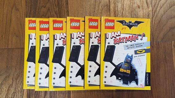 Lot of 6 Lego Batman Activity Books - New