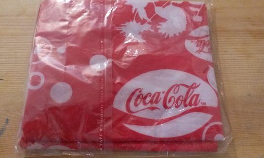 包平郵 可口可樂頭巾 coca cola