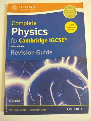 Cambridge IGCSE Physics Revision Guide