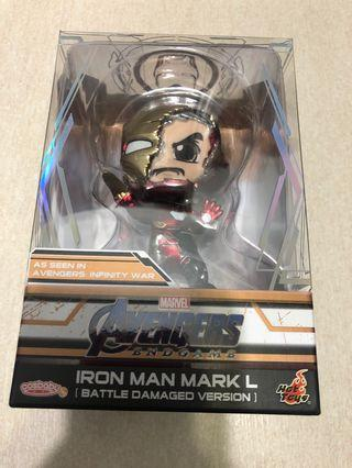 Hot toys cosbaby marvel end game iron man 特別戰損版
