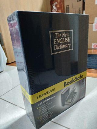 Book Safe by HomeSafe (Large Size) Diversion Safe / Portable Secret Metal Storage