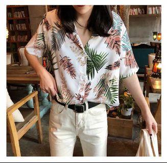 Hawai white shirt