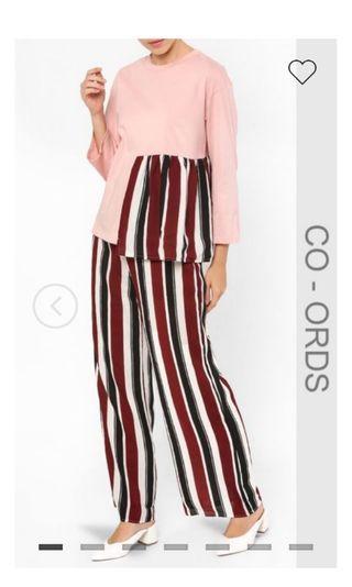 Raessa top and pants suit