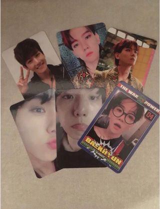 [wts] baekhyun photocards