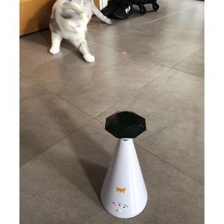 自動逗貓玩具 (紅點)