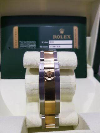 Rolex Submariner Half Gold 116613LB