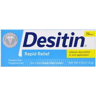 Desitin, Diaper Rash Cream, Rapid Relief, 113 g