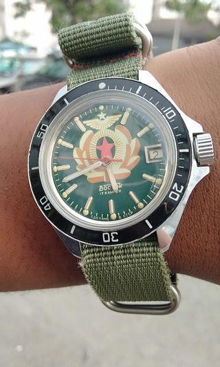 Vintage Boctok Amphian Men Handwind Watch