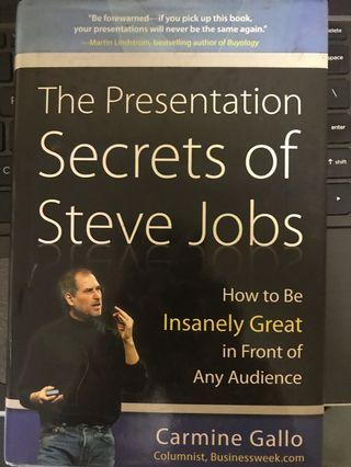 🚚 The Presentation Secrets of Steve Jobs - Carmine Gallo
