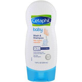 Cetaphil, Baby, Wash & Shampoo with Organic Calendula, 230 ml