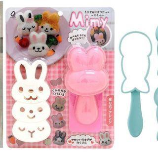 K116 兔子飯團模具