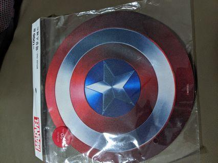 Captain America Shield mousepad