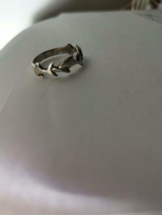 Dolphins Silver Ring