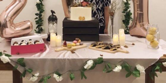 Dessert Table Decoration for Rent